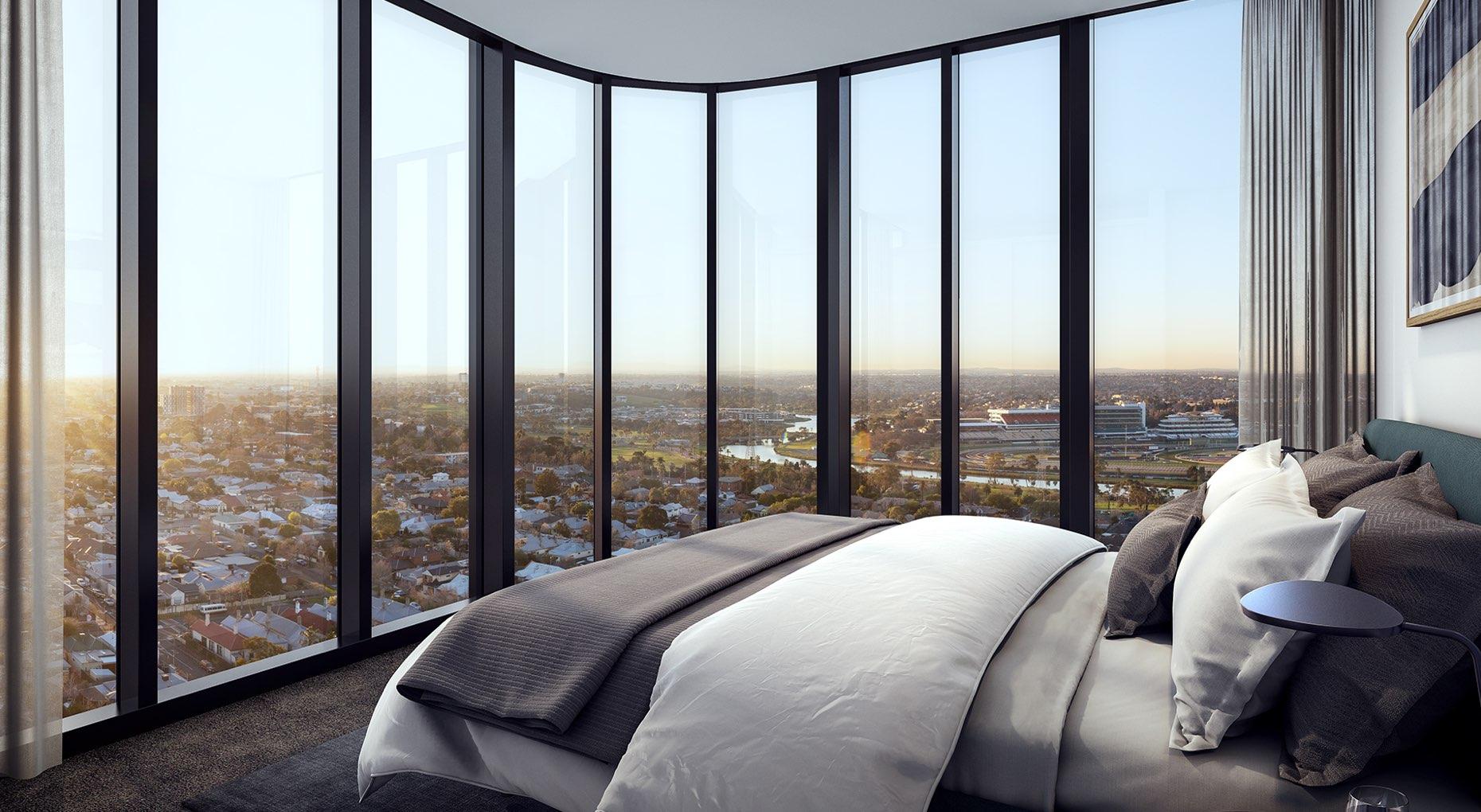Liberty-One-Render-Footscray-IN06-Type-11-LVL-21-Master-Bedroom